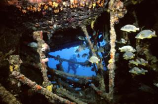 Rhone dive site